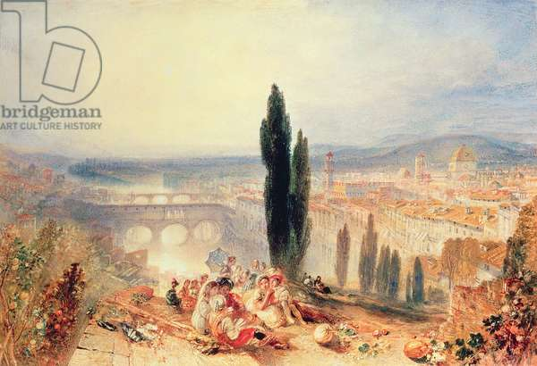 Florence from near San Miniato, 1828