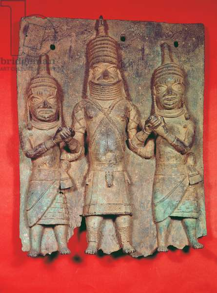 Benin Plaque, Nigeria (brass)