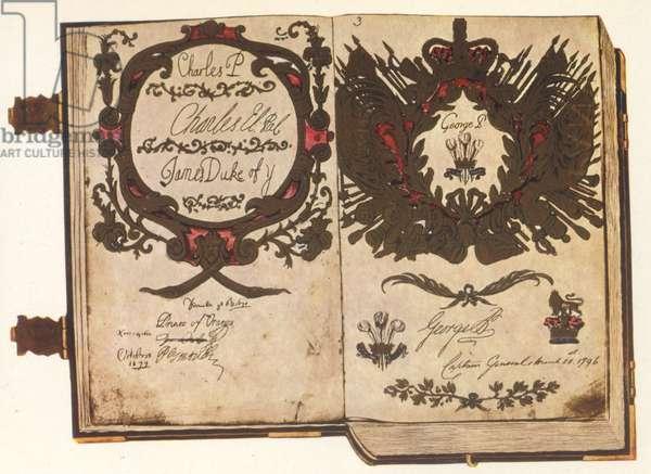 The Ancient Vellum Book (ink on vellum)