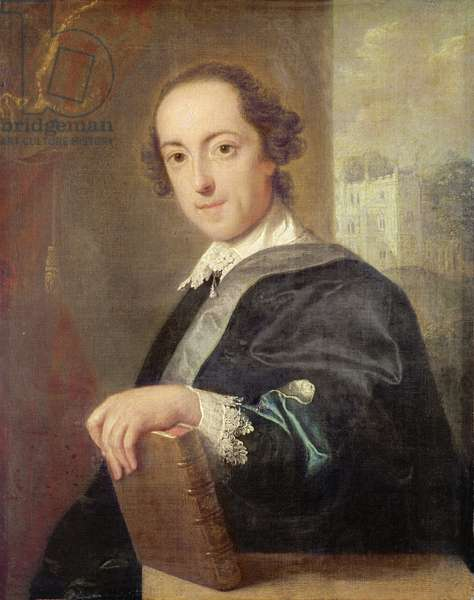 Portrait of Horatio Walpole, 4th Earl of Oxford, 1754 (oil on canvas)