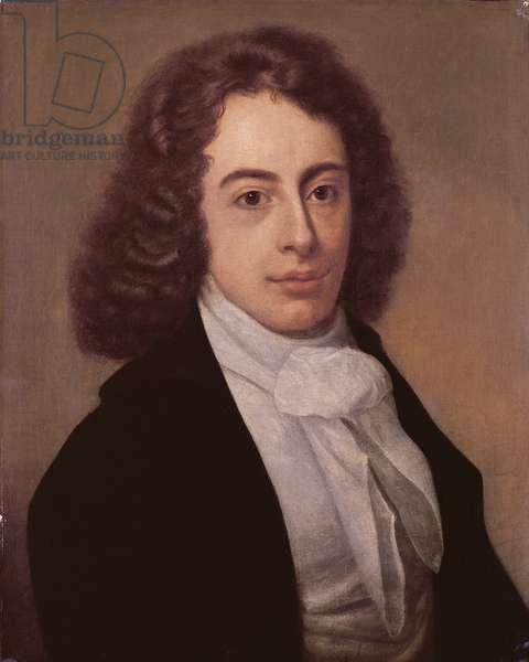 Portrait of Robert Southey, 1795 (oil on canvas)