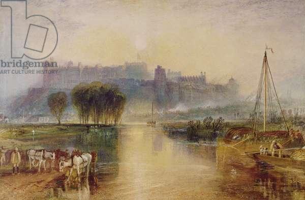 Windsor Castle, c.1829 (watercolour)
