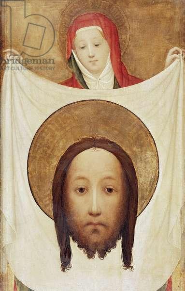 Saint Veronica with the Sudarium, c.1420 (oil on walnut)