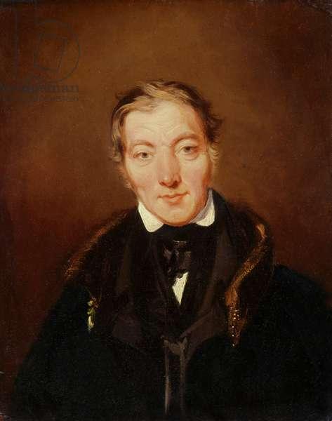 Robert Owen, 1834 (oil on canvas)
