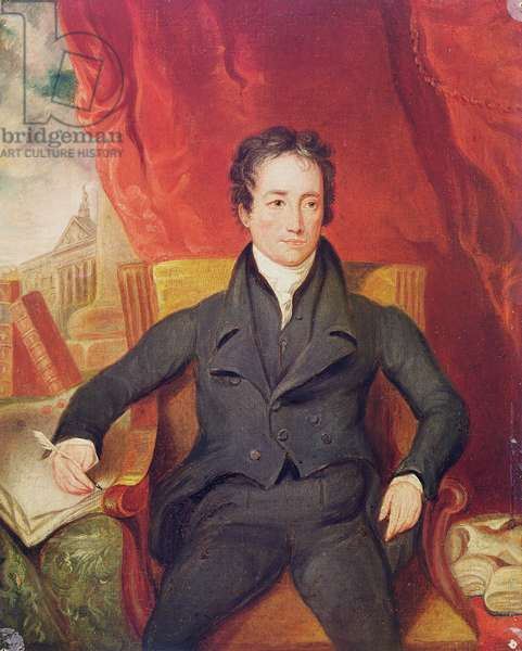 Portrait of Charles Lamb (1775-1834) 1826 (oil on canvas)