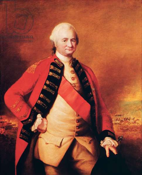 Robert Clive (1725-74) 1st Baron Clive, c.1773 (oil on canvas)