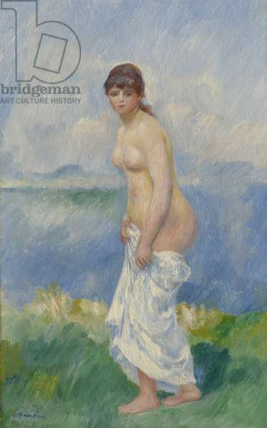 Standing Bather, c.1885 (oil on canvas)