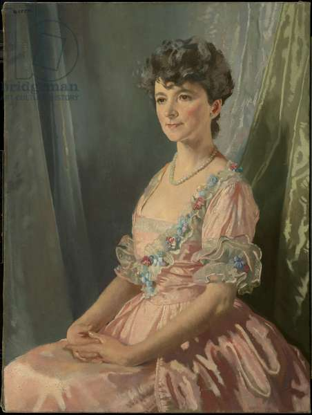 Francine J. M. Clark, 1921-22 (oil on canvas)