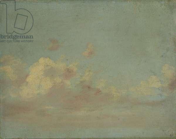 Cloud Study, c.1821-22 (oil on laminate cardboard)