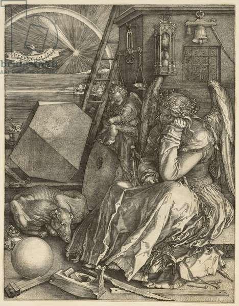 Melencolia I, 1514 (engraving)