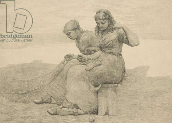 Mending the Tears, 1888, probably printed c.1940 (etching)