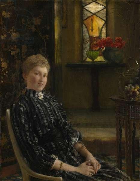 Portrait of Mrs Ralph Sneyd, 1889 (oil on panel)