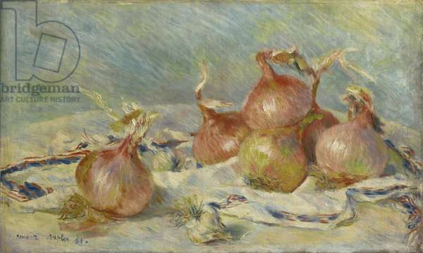 The Onions, 1881 (oil on canvas)