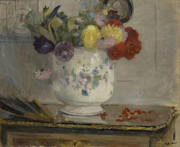 Dahlias, 1876 (oil on canvas)