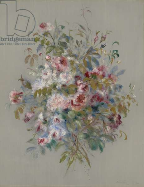 Bouquet of Roses, 1879 (oil on panel)