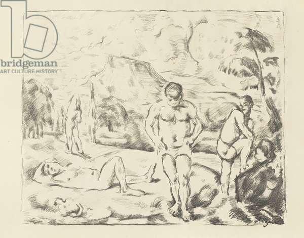 The Large Bathers, 1896-97 (litho)