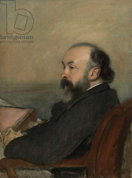 Portrait of a Man, c.1877 (oil on canvas)