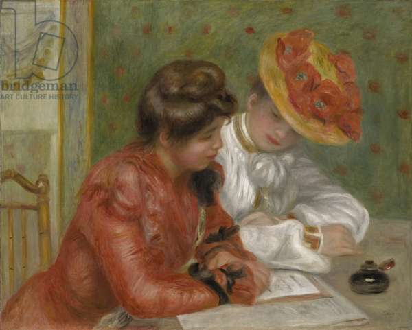 The Letter, c.1895-1900 (oil on canvas)