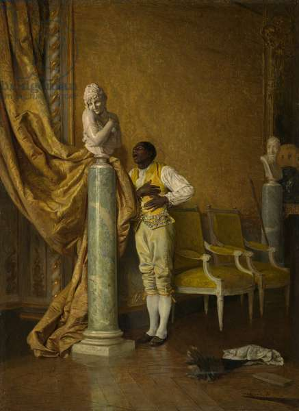 Platonic Love, 1870 (oil on panel)