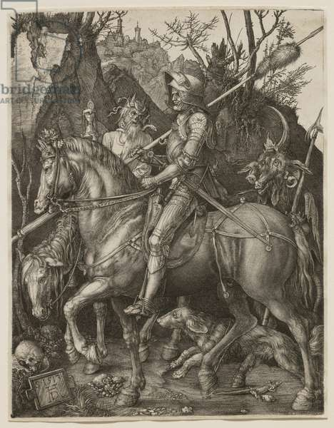 Knight, Death and the Devil, 1513 (engraving)