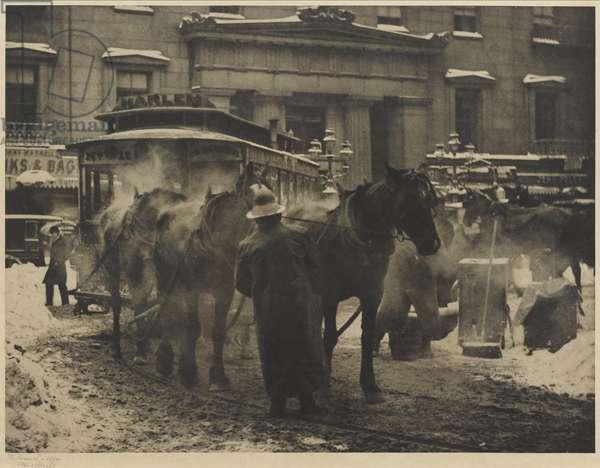 The Terminal, 1893, printed c.1910 (photogravure in original frame)