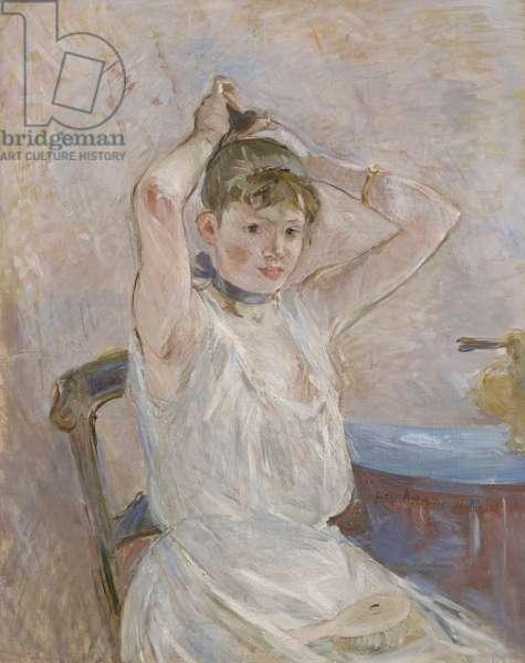 The Bath, 1885-86 (oil on canvas)