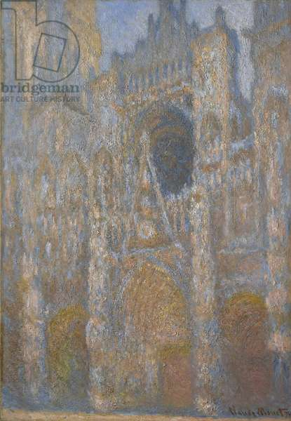 Rouen Cathedral, Facade, c.1892-94 (oil on canvas)