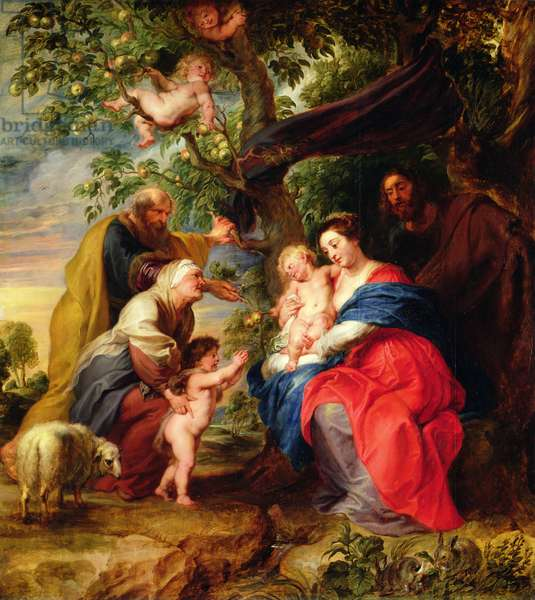 The Holy Family under an Apple Tree, c.1632 (oil on panel)