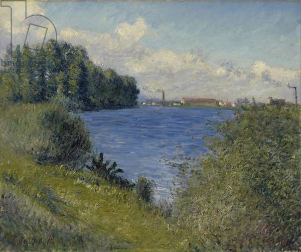 The Seine at Argenteuil, c.1892 (oil on canvas)