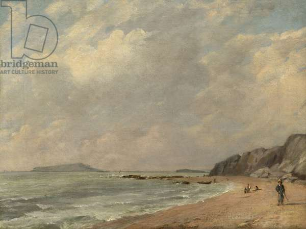 Osmington Bay, 1816 (oil on canvas)