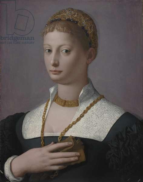Portrait of a Woman, c.1550 (oil on wood)