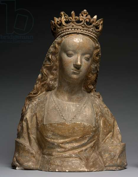 Bust called Anne de Bretagne, c.1500 (stone)