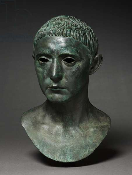 Portrait of a Man, 27 BC-AD 14 (bronze)