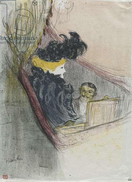 A Princely Idyl, Clara Ward, 1897 (colour litho)