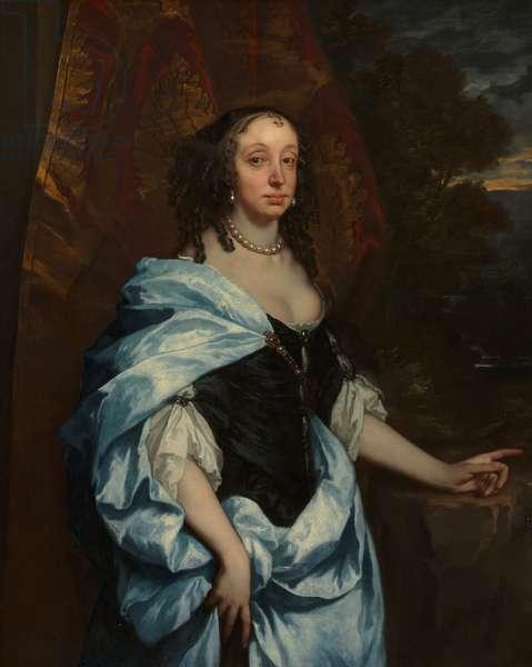 Portrait of Mrs. Leneve, c.1657 (oil on canvas)