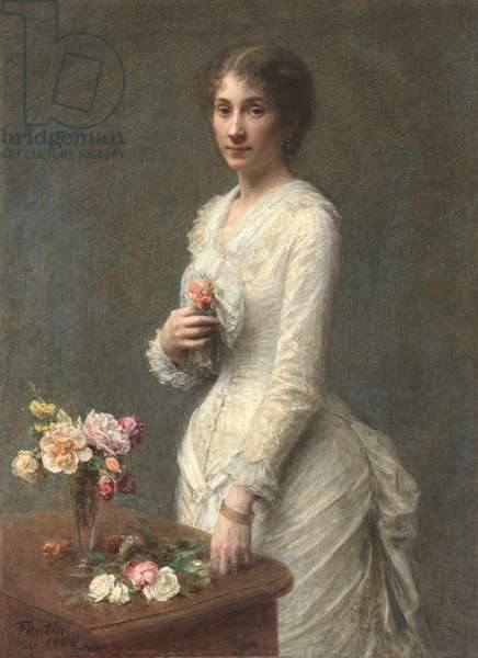 Madame Lerolle, 1882 (oil on fabric)