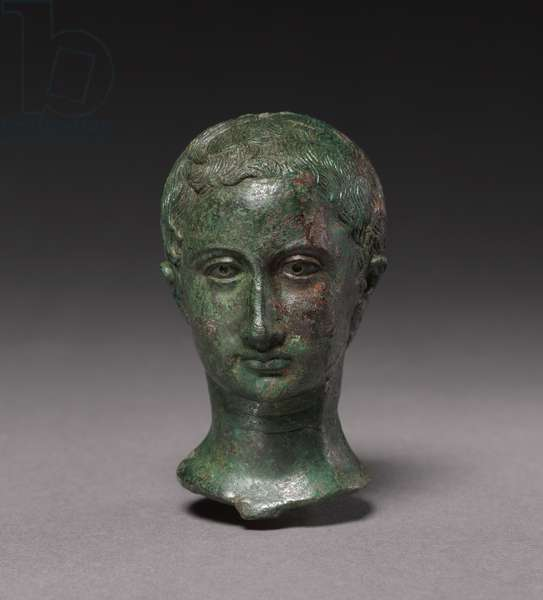Portrait of a Young Girl, c.25-30 (bronze)