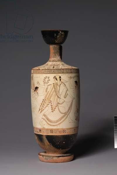 The Atalanta Lekythos (Funerary Oil Jug), 500-490 BC