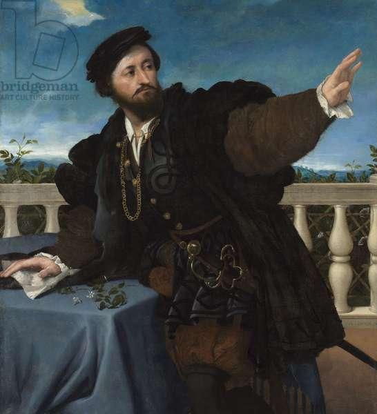 Portrait of a Man, possibly Girolamo Rosati, 1533-34 (oil on canvas)
