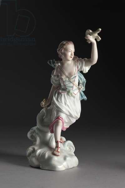 Air, manufactured by Derby Porcelain Factory (Chelsea-Derby Period), c.1775 (soft-paste porcelain)