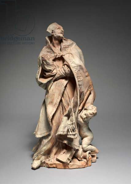 Study for The Blessed Alessandro Sauli, 1663-68 (terracotta)