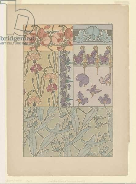 Documents Decoratifs: Plate 41 (colour litho)