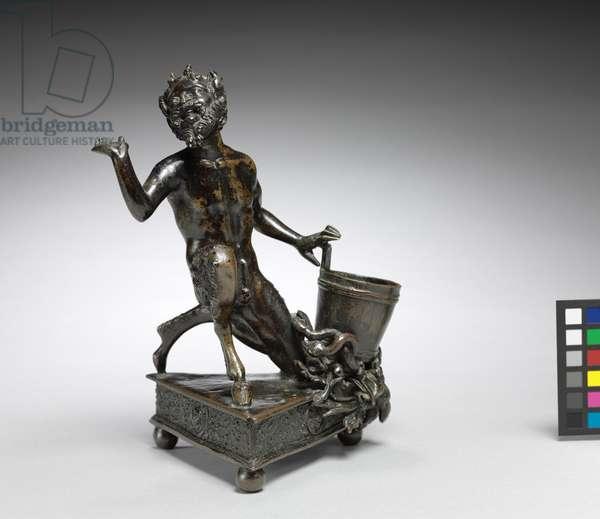 Kneeling Satyr, c.1520 (bronze)