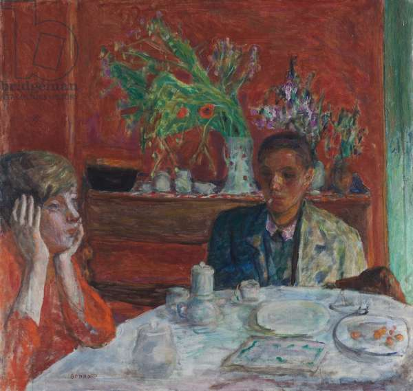 The Dessert, 1921 (oil on canvas)