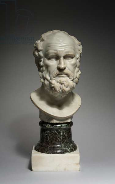 A Philosopher, 1662 (marble)