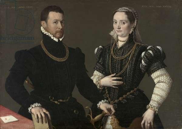 Portrait of a Couple, c. 1580-88 (oil on canvas)