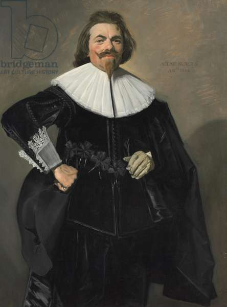 Portrait of Tieleman Roosterman, 1634 (oil on canvas)
