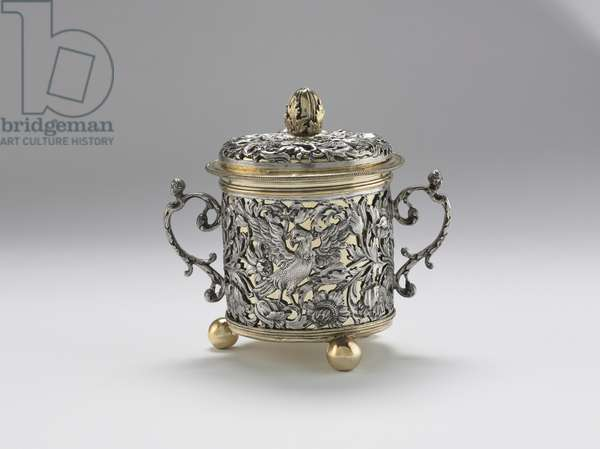 Two-Handled Cup, 1677 (silver & silver gilt silver)