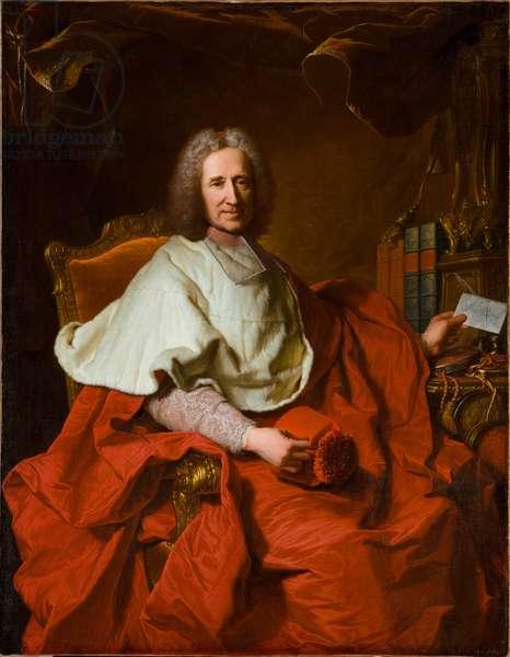 Cardinal Guillaume Dubois, 1723 (oil on canvas)
