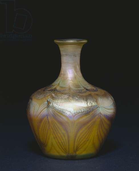 Vase, c.1894 (favrile glass)
